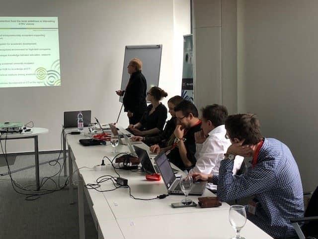 Präsentationen des Meetings in Szeged