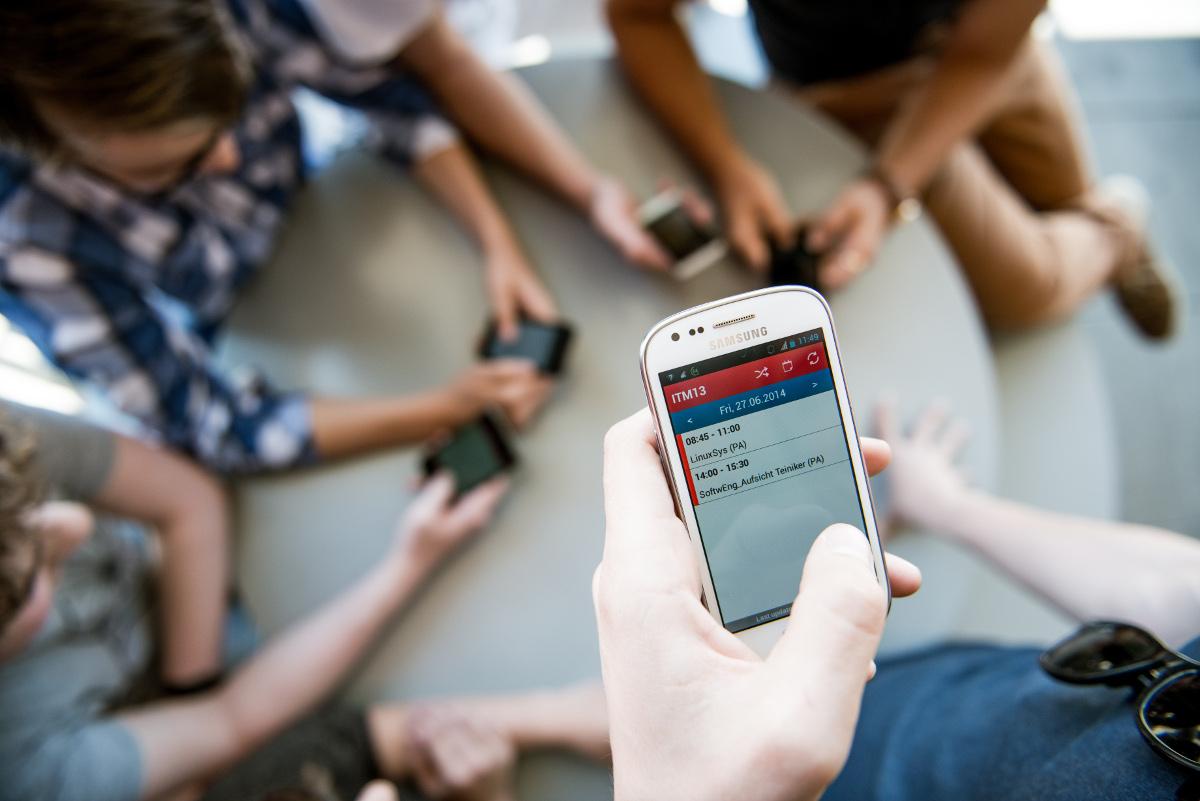 Titelbild des Studienganges Mobile Software Development