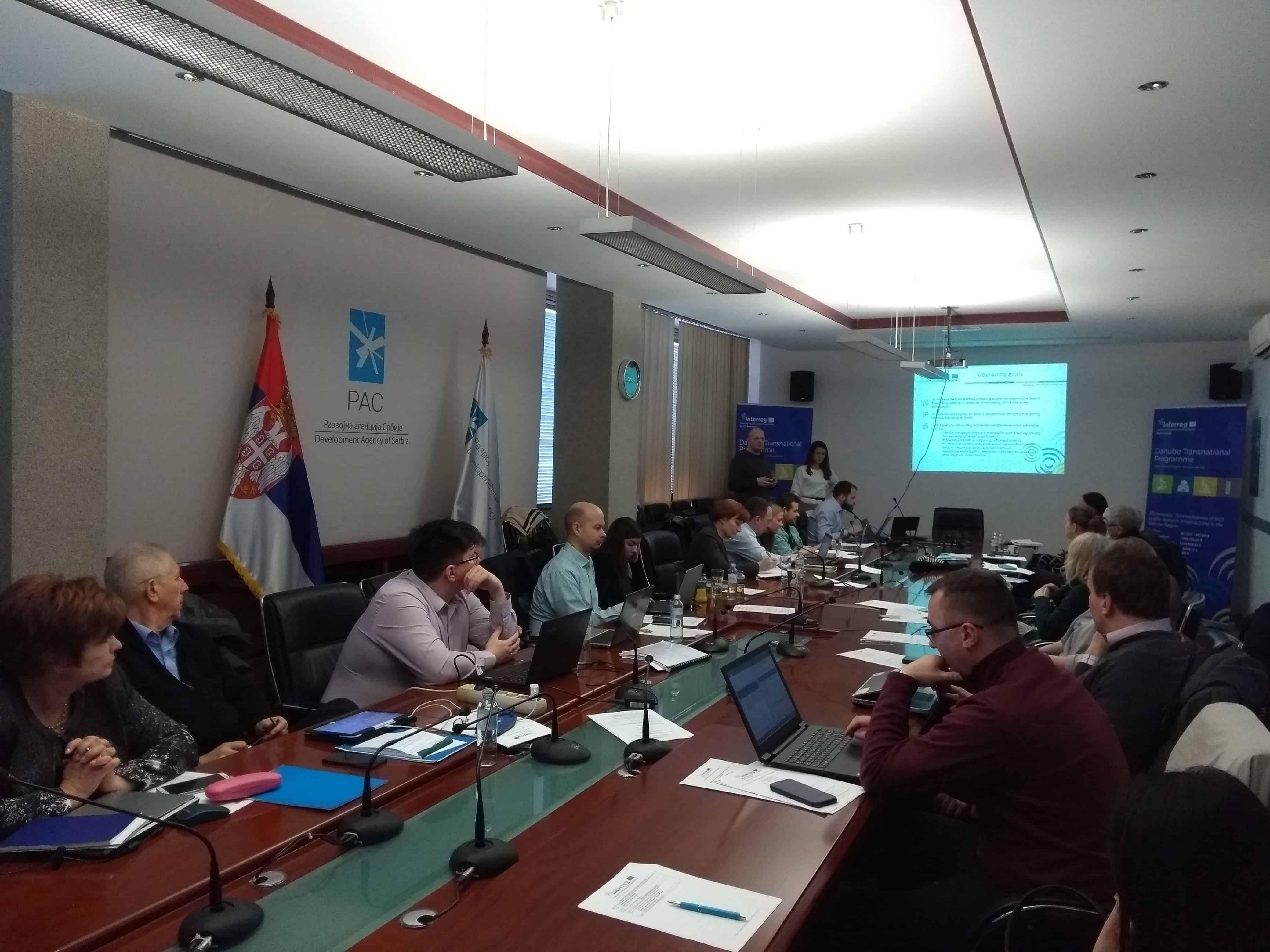 RI2integrate und Accelerator Meeting in Belgrad